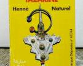 Natural henna Sahara Tazarine. From Morocco.