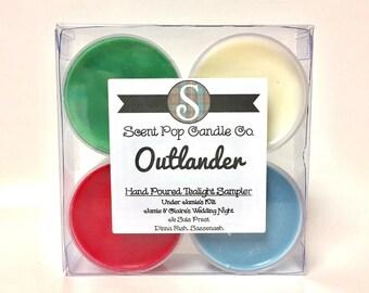 Outlander Tea Light Sampler, Set of 4