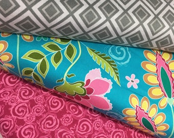 Bundle of 3 Fabrics from the Fantine Collection by Lila Tueller for Riley Blake Fabrics
