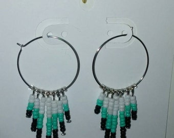Dangle bead earrings