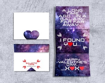 valentine's day card for him / instant digital Download printable