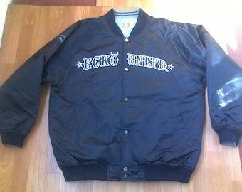 ECKO UNLTD jacket, vintage Ecko jacket of 90s hip-hop clothing, 1990s hip hop college jacket og gangsta rap L Large