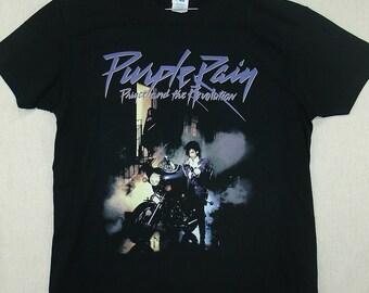 Prince, Purple Rain, T-shirt 100% Cotton
