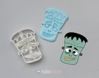 Frankenstein's Monster Cookie Cutter