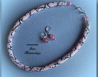 """necklace """"Sakura Color"""""""