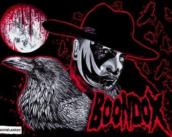 "Boondox ""Bloodletting"" drawing A4 size ORIGINAL DRAWING"