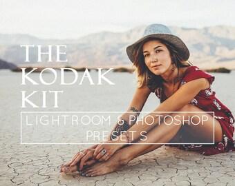 20 Kodak Film Lightroom Presets, Lightroom Overlay, Photoshop Actions, VSCO Preset, Film Preset, Portrait Preset, Lightroom 5 Presets