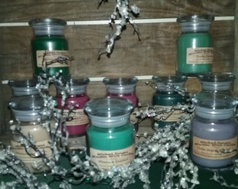 Apothecary Wooden Wick Candles