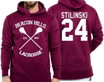 Beacon Hills Teen Wolf STILINSKI 24 Unisex Hoody Jumper