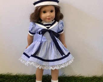 Sailor dress and hat