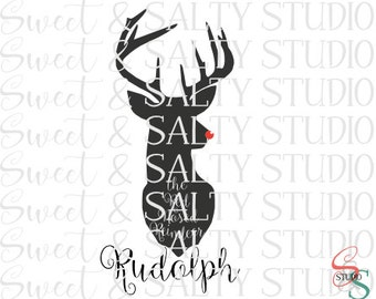 rudolph the red nosed reindeer digital file