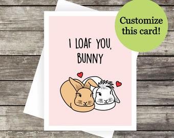 I Love You, Honey Greeting Card | Love Card, Anniversary Card, Blank Card | Girlfriend, Boyfriend, Long Distance Relationship, Wife, Husband