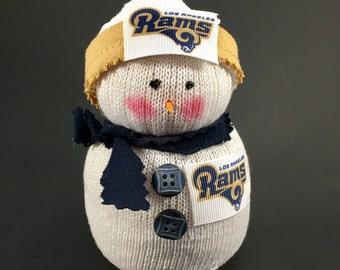 Los Angeles Rams,LA Rams gift,LA Rams collectible,Los Angeles Rams accessory,NFL Rams,Los Angeles Rams Decor,Los Angeles Rams snowman