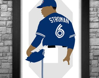 MARCUS STROMAN minimalism style limited edition art print. Choose from 3 sizes!