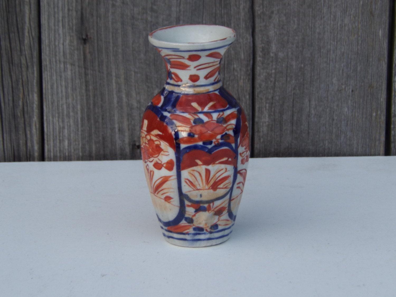 Antique japanese porcelain imari vase vintage ceramic meiji details antique japanese meiji period imari vase reviewsmspy