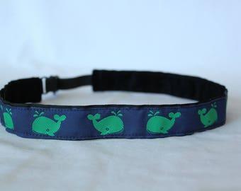 Green Whales Headband