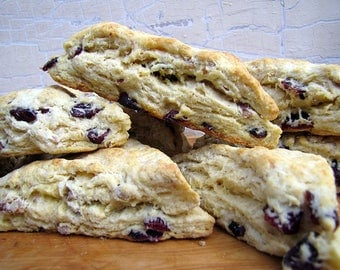 Cranberry Orange Pecan Scones, Scones, 1 Dozen, Cranberry, Orange, Pecan, Scones