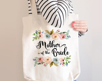 Mother Of The Bride Tote, Mother Of The Bride Tote Bag, Custom Mother Of The Bride Bag, Mother Of the Bride Gift, Gift For Mother Of Bride