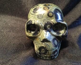 kabbah jasper skull
