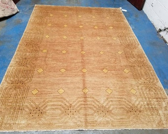 5' X 8' Handmade Rug