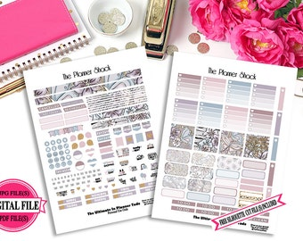 Passion - Mini Happy Planner - Printable Planner Stickers