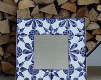 """Mirror """"Delft"""""""