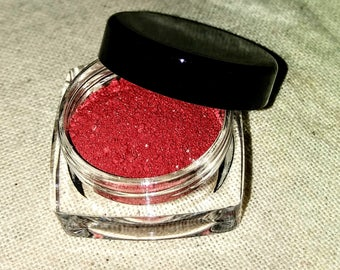 Sinner - Red Eyeshadow - Mineral Eyeshadow - Mineral Makeup - Goth Makeup - Cosplay Makeup - Cosplay - gifts for her - Matte Eyeshadow
