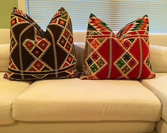 """Kilim pillow COVER only - Size 24""""x24"""""""