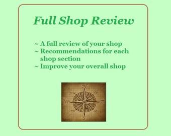 Etsy Shop Critique, SEO help, Shop review, Etsy shop analysis,