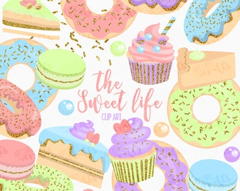 The Sweet Life Clip Art