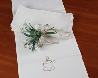 Organic Cotton Napkins,napkins cotton,embroidered napkins,napkin,cotton napkins,table napkin,cotton dinner napkins, shell napkin
