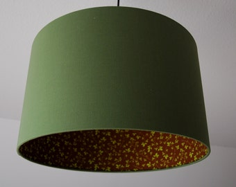 "Lampshade ""Olive green"""