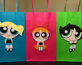 Powerpuff Girls Party Bags