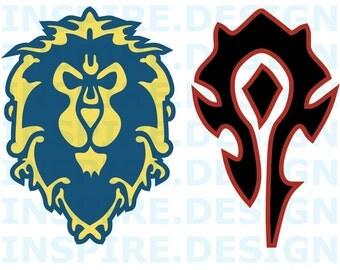 World of Warcraft Alliance / Horde Logo