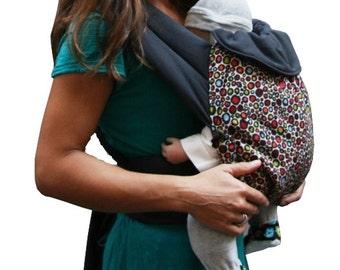 Baby carrier Ronds Colorés 100% biologic coton made in Lyon