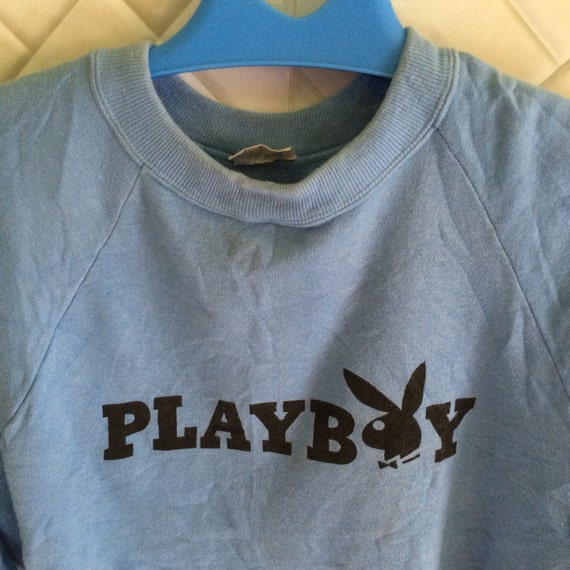 Vintage 90s playboy big logo spell out rare