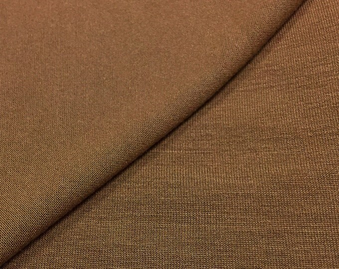 Micro Modal/Spandex Stretchy Dress Fabric Cocoa