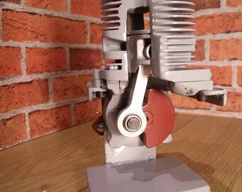 ENGINE, Sectioned, Cut away, Desk tToy, Steampunk, Mancave, Strimmer Engine