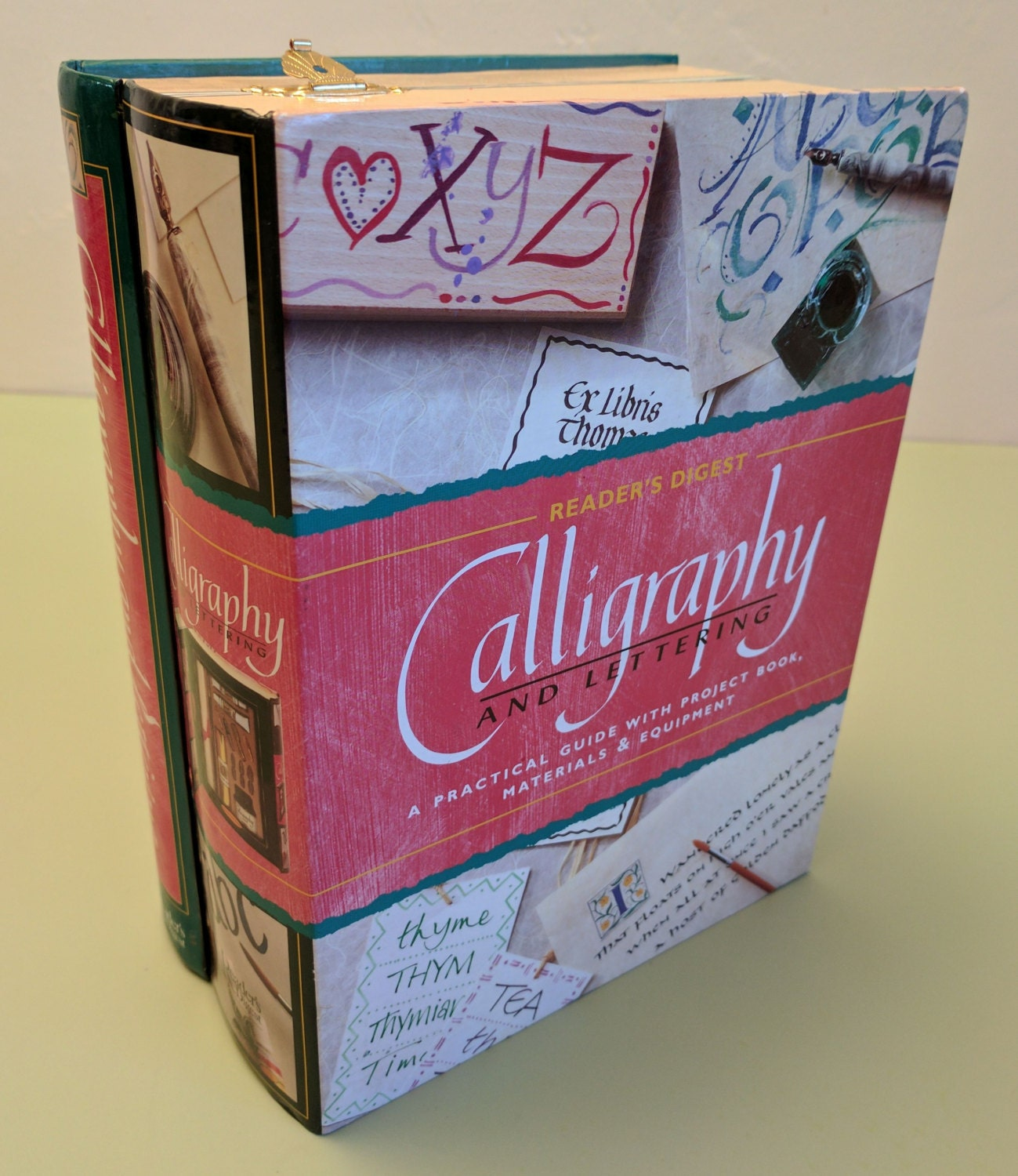 calligraphy and lettering set reader s digest
