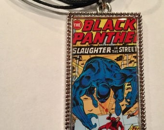 Black Panther Necklace/ Marvel