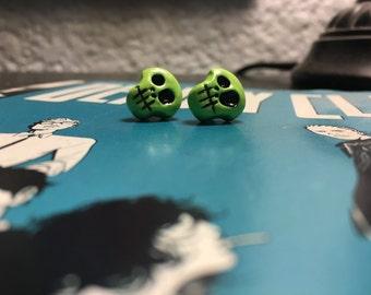 Zombie Skull Studs