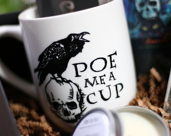 Poe Inspired Mug