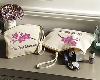 The best Mummy glitter wristlet bag