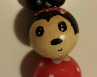 Sautoir necklace or Keychain Minnie Mouse
