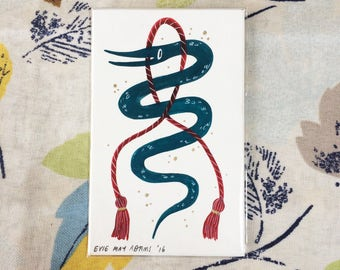 Snake & Rope - Mini Painting