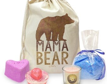 Mama Bear Silhouette Mini Spa In A Bag Collection 2