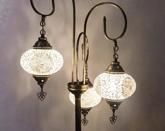 Floor lamps,turkish mosaic lamps,minimalist lamp,moroccan lamps,bedroom night light,boho night light,modern room lighting,moroccan lantern