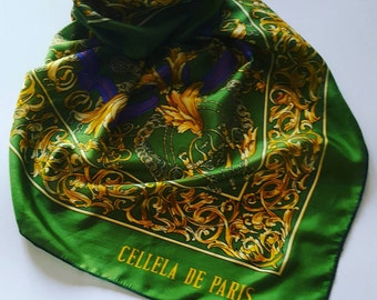 Cellela de Paris vintage scarf
