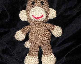 Crochet Amigurumi Monkey Stuffed Toy