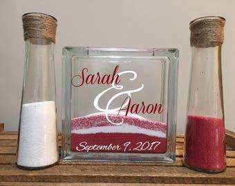 Unity Sand Ceremony Set/Wedding Sand Ceremony Set/Wedding Ceremony Set/Unity Sand Set/Sand Ceremony Set/Unity Ceremony/Unity Sand Set of 3